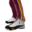 Arizona State Track Pants and Sneakers