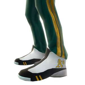 Oakland Track Pants and Sneakers