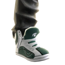 Michigan State Jeans and Sneakers