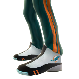 Miami Track Pants and Sneakers