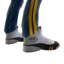 Predators Track Pants and Sneakers