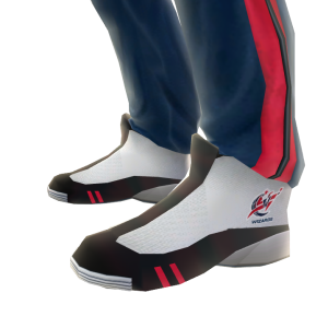 Wizards Track Pants and Sneakers