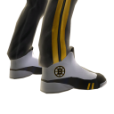 Bruins Track Pants and Sneakers