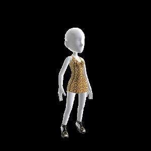 Snooki Leopard Dress