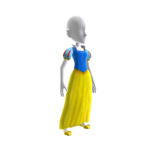 Snow White's Princess Costume