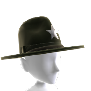 County Sheriff Hat