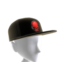 Epic Red Gamer Skull Hat