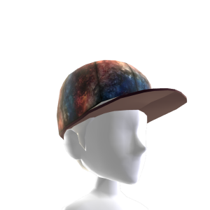 Red White & Blue Galaxy Hat