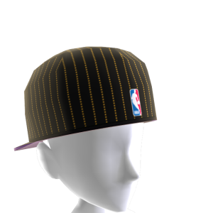 LA Lakers Backwards Pinstripe Cap