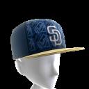 San Diego Logo Pattern Cap