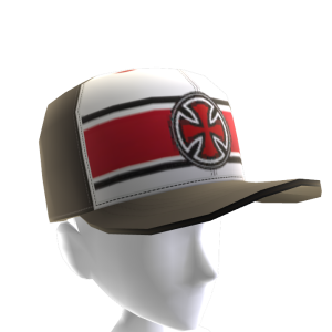 Strip Cross Cap