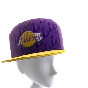 LA Lakers Tilted Pattern Cap