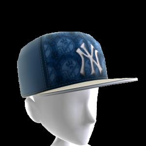 NY Yankees Logo Pattern Cap
