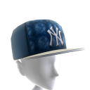 NY Yankees Logo Pattern Cap