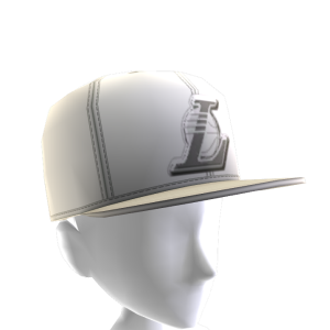 LA Lakers White Cap