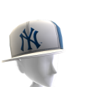 NY Yankees Sideways Panel Cap