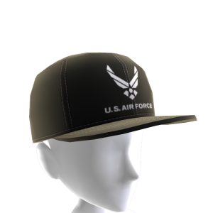Air Force Hat - Black