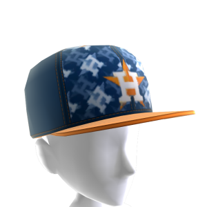 Houston Astros Logo Pattern Cap