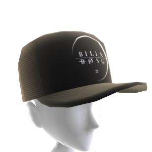 Perimeter Trucker Hat - Black