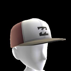 Flow Hat - White Burgundy