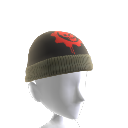 Crimson Omen Skull Cap