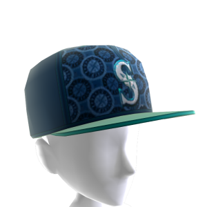 Seattle Logo Pattern Cap