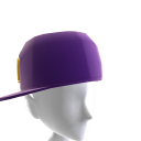 KKZ Purple & Gold Crown Fitted Hat