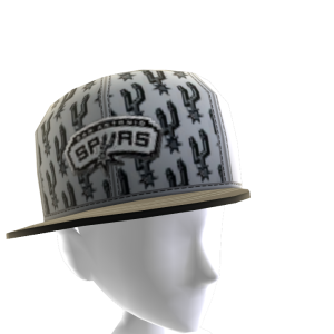 San Antonio Tilted Pattern Cap