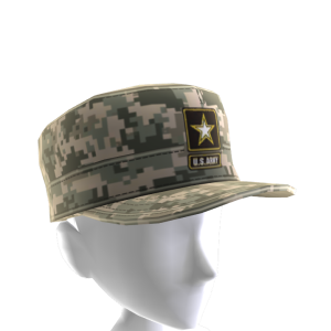 Army Camo Patrol Cap