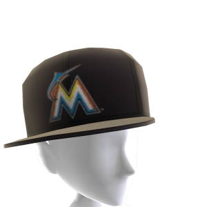 Miami Marlins Tilted Cap