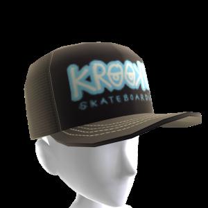 Krooked - Bones Trucker Hat - Black