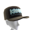 Krooked - Bones Trucker Hat - Black