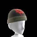 Crimson Omen Skull Cap