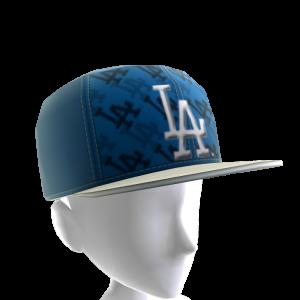 LA Dodgers Logo Pattern Cap