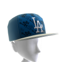 LA Dodgers Logo Pattern Cap