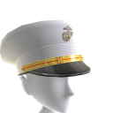 Marines Officer Dress Blue Peaked Cap