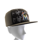 Miami Marlins Logo Pattern Cap