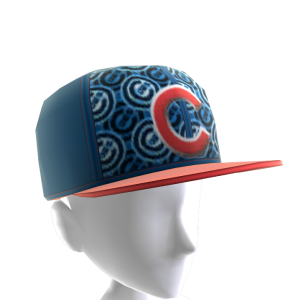 Chicago Cubs Logo Pattern Cap