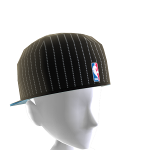 Dallas Backwards Pinstripe Cap