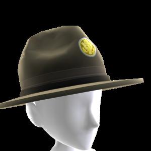 Sombrero de sargento de instrucción
