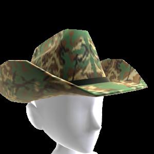 Cowboy Hat - Camo