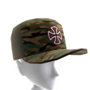 Painted Cross Camo Mesh Cap