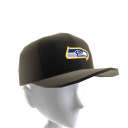 Seahawks Gold Trim Cap