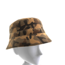 KKZ Brown Camo Bucket Hat