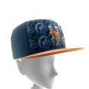 NY Mets Logo Pattern Cap