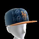 NY Mets Logo Pattern Cap
