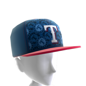 Texas Logo Pattern Cap