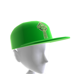 Epic St Pattys Celtic Hat Green 2