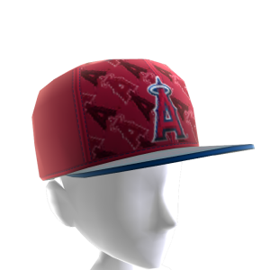 LA Angels Logo Pattern Cap