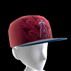 LA Angels Logo Pattern Cap